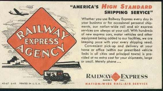 Jeffpo 39 s miscellaneous railroad items page for Ad agency in usa