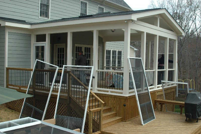 In Back Porch Ideas Home Design And Decor Screened In Porch Pictures ...