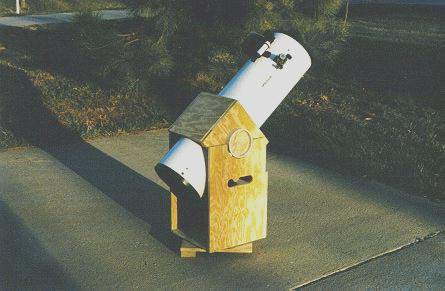 Star Finder telescope, dobsonian mode